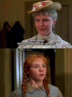 The look on Anne& face speaks volumes. Anne of Green Gables I hated being called carrots! Jonathan Crombie, Lucas Jade Zumann, Anne Of Avonlea, Gilbert Blythe, Anne With An E, Anne Shirley, Kindred Spirits, Anne Of Green Gables, Period Dramas