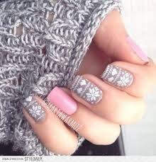 Téli köröm, télen szerintem nagyon hangulatos lehet egy ilyen köröm . :)