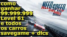 Need for speed rivals como ganhar 99.999.999 level 61 e todos os carros ...