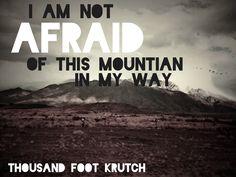 Thousand foot krutch lyric art