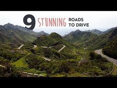 ▶ 9 Stunning Roads You Should Drive Before You're 30 - Car Throttle // Pikes Peak isn't really that great normally. Just slow. But go up for the hillclimb and drive it in the dark....