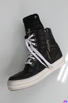 Chrome Hearts x Rick Owens Sneakers. I fuckin need my first pair of rick owen.