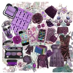 Purple People Eater, created by emmeaki on Polyvore