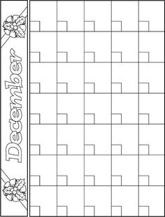 doodle art calendar templates | Blackline Masters ~ Templates ...