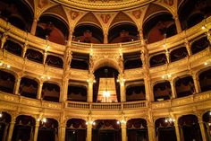The Hungarian State Opera House | photo cred: Pank Seelen |
