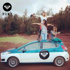 Alegre y sin límites, eso es ser una chica ROXY #LifeStyle #ROXY