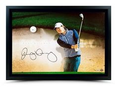 Rory McIlroy Signed Autographed 24X16 Photo Golf Ball Breaking Through /100 UDA