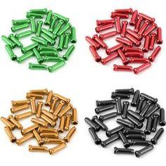 Aluminium ENDCAPS 2.3 mm frein//Gear//MTB//Route//Montagne//Race//Câble//Inner Pack de 5