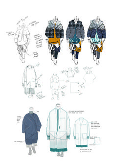 Fashion Sketchbook - fashion design development; fashion sketches; fashion portfolio // Amie Edwards