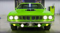 Stunning 1971 Plymouth Cuda 392 Hemi by Graveyard Carz. Find out more!