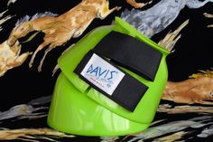 Davis bell boots in neon lime green. $24.90 + postage.    Horse Feathers Saddlery: horsefeatherssaddlery@gmail.com