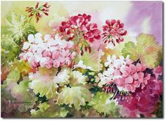 Jeanne Brenneman.       Watercolor