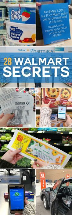 26 Little-Known Walmart Secrets from a Store Manager I'm not calling a legit job, but hundreds off groceries per year ain't shabby! Here are 28 LIttle-Known Walmart Savings Tips from a Store Manager
