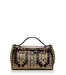 Tory Burch Small Frame Printed Satchel