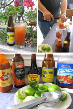 now has 'Pin It' buttons on every post - fun! Mexican Snacks, Mexican Drinks, Mexican Beer, Mexican Food Recipes, Healthy Recipes, Cocktail Drinks, Fun Drinks, Yummy Drinks, Cocktails