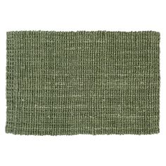 A hand-woven jute doormat that creates an inviting impression inside the door.