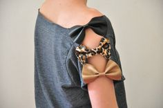 add Bows - all in same color for a more timeless look