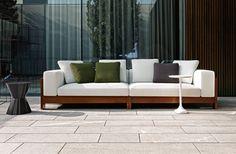 Alison Iroko Outdoor Sofa, Rodolfo Dordoni With Roberto Minotti Design  #lifescape #outdoor #. GartenGartensofaIndoor ...