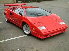 Lamborghini Countach  As is pretty obvious, I LOVE LAMBORGHINIS!!!!!!!!!!!! *cries because i want one*