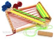 Children's Wooden Weaving Loom