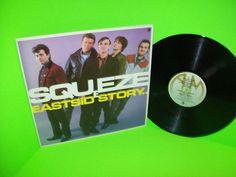 Squeeze – East Side Story 1981 Vinyl LP Record TRANSLUCENT Black Vinyl NM…