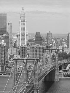 NYC - The Brooklyn Bridge, New York City / Go Brooklyn!