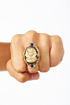 Pharaoh Ring #r29summerstyle. That's so Phi Sigma Sigma.