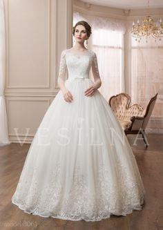Коллекция «VICTORIA»: Свадебное платье, модель 3061 от Vesilna™ — заказать на сайте или купить в салоне партнёра фото