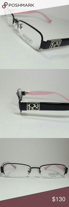 Coach Eyeglasses New and authentic Coach Eyeglasses Black and pink frame Size 51_18-135 Original case included Coach Accessories Glasses