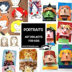 Portraits: Art Projects  for Kids