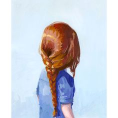 "Elizabeth Mayville ""Hair Braid"" Print"
