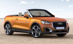 Un Audi Q2 Cabrio para rivalizar con el Range Rover Evoque Convertible ¿podría pasar? - http://www.actualidadmotor.com/audi-q2-cabrio-render/