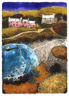 """Welsh artist Chris Neale, """"Abercastell"""""""