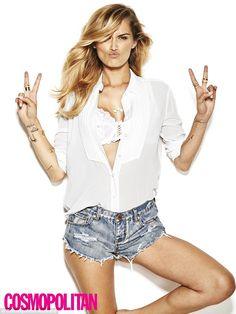 catherine mcneil aussie supermodel with tattoos