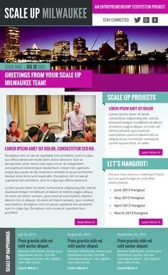 Custom newsletter design for your small business etsy for Newsletter design inspiration