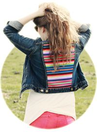 DIY Mexican Blanket Jacket | Sprinkles in Springs - so cute and easy