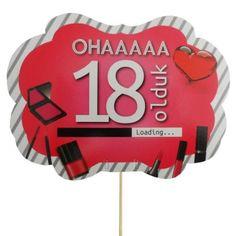 Oha 18 Olduk Konuşma Balonu
