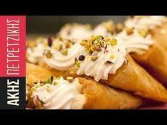 Τρίγωνα Πανοράματος   Άκης Πετρετζίκης Chicken, Sweet, Food, Lab, Decoration, Kitchen, Youtube, Candy, Decor