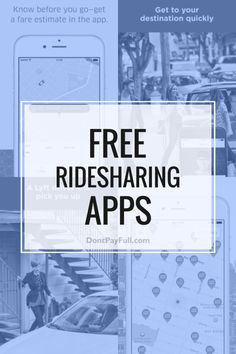 Whether you're trying to get around town and don't have a public transport option or have a daily commute that's costing you an arm and a leg in gas, ridesharing can save you stress and money. And if you're ridesharing on your daily commute, either as driver or passenger, you can also congratulate yourself on being 'green'. Don't you love it when being a 'greenie' actually saves you money? Check out these ride share apps and start carpooling! #DontPayFull