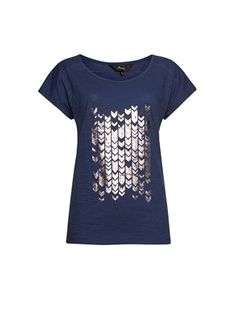 Esprit Jordyn T-Shirt Top de Pijama para Mujer