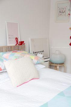 bedroom pastels