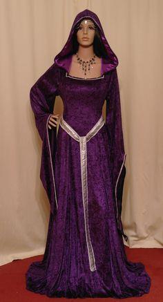 mittelalterliche Renaissance Elfen Fee Kleid maßgefertigt