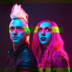 Ariel Bloomer and Shawn jump icon for hire