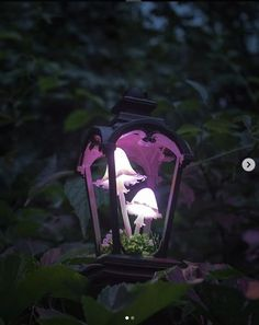 These Glowing Mushroom Lamps Are Pure Magic And I Want Them All, Please Mushroom Lights, Mushroom Art, Glowing Mushrooms, Do It Yourself Decoration, Midnight Garden, I Love Lamp, Lantern Lamp, Fairy Houses, Larp