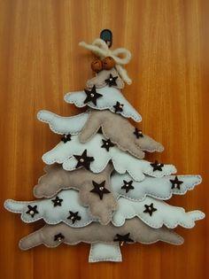 """Tutorial con patron. PAPIROLAS COLORIDAS: Arbol de Navidad y pie de arbol Bucilla """"Candy Express"""" ( tren )"""