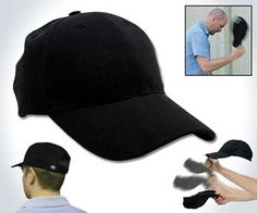 Sap Cap - Weaponized Baseball Hat