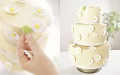 Hier zeigen wir Ihnen, wie man eine Hochzeitstorte herstellt. Punkt für Punkt führen wir Sie nun durch die einzelnen Arbeitsschritte. Die Dekoration der Torte ist natürlich Ihnen und Ihrem Hochzeitsthema überlassen. Wir haben hier 2 Varianten für Sie aufgeführt: