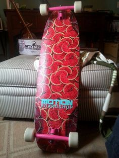 This Arbiter 36 longboard skateboard by Original Skateboards is ready for Summer with a fresh Watermelon graphic thanks to Joseph Eliot Rogers. #fanphotofriday
