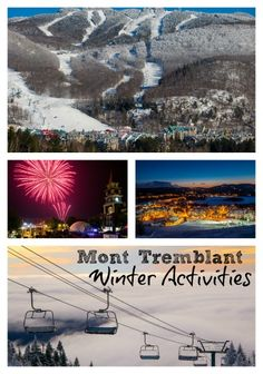 Mont Tremblant Winter Activities - Traveling Mom