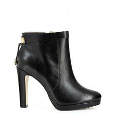 San Marina In the Navy 2014 High heel black booties